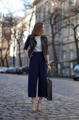look-con-pantaloni-corti
