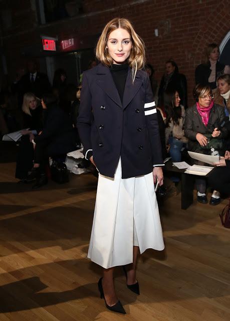 Olivia+Palermo+Outerwear+Pea+Coat+YS6e3wM5MIWx
