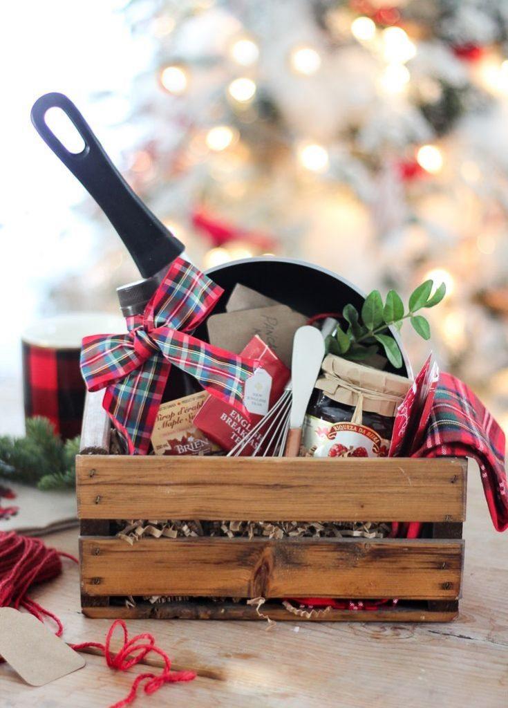25-unique-breakfast-gift-baskets-ideas-on-pinterest-breakfast-with-regard-to-gift-baskets-for-christmas-2017-735x1024