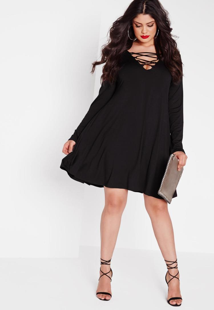 plus-size-lace-up-swing-dress-black.jpg