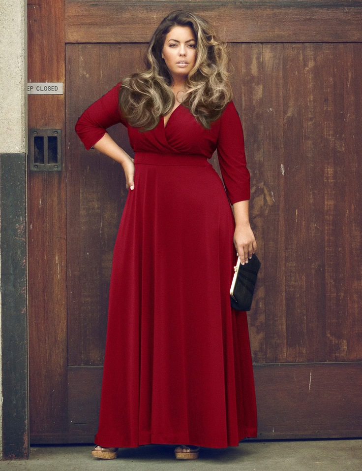 Sexy-fashion-pure-color-long-dress-V-neck-big-pendulum-type-maxi-dress-Plus-size-women.jpg