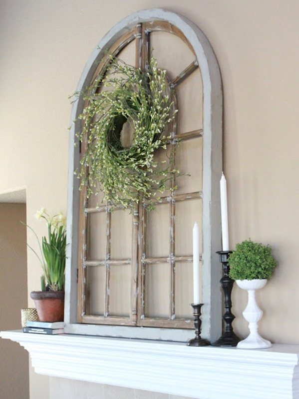 mantle-wreath-fireplace-mantel-ideas-Decorating-ideas-for-old-windows-arched-window-on-mantel.jpg
