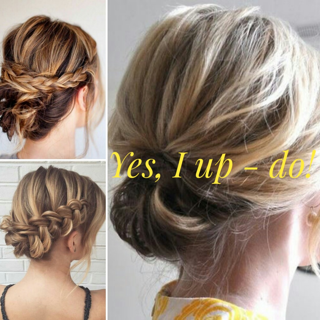 Low up do hairstyles