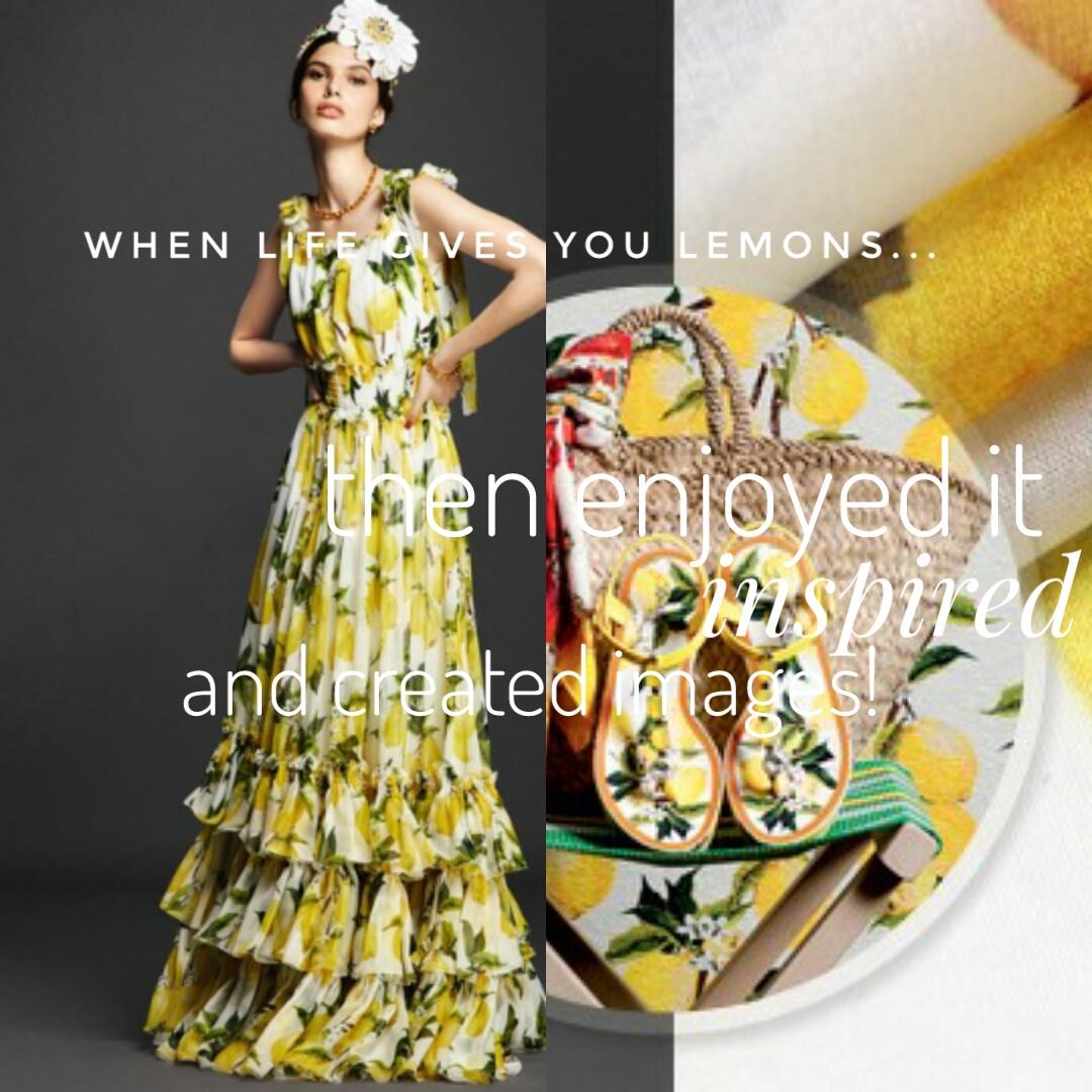 Lemon Print Trend