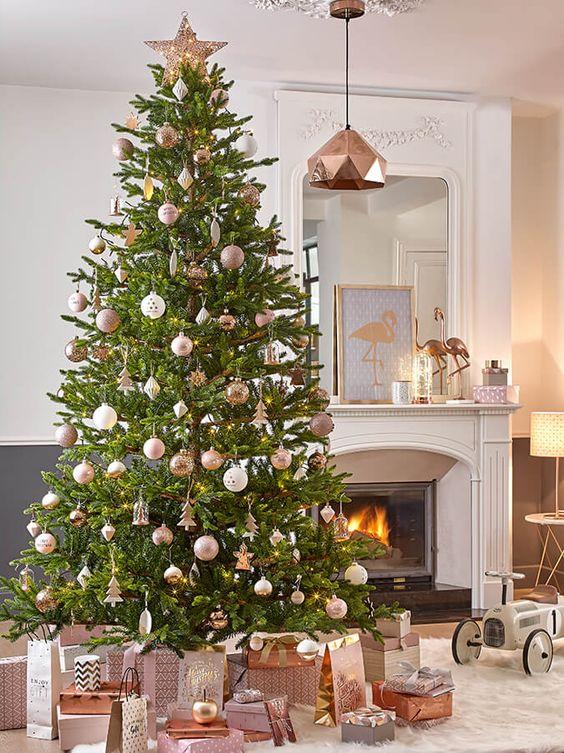 Copper Christmas Decoration