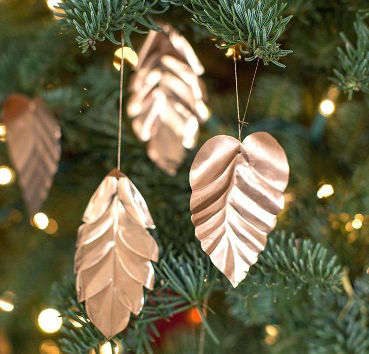 D.I.Y Copper ChristmasOrnaments